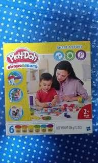 PlayDoh shape and learn