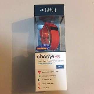特價 full set New Fitbit Charge HR (red)