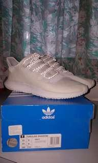 Adidas Tubular Shadow Suede (Crystal White)