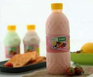 Yogurt wiwits stroberry dan anggur (bekasi, jaktim) 500ml