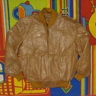 jaket kulit buaya