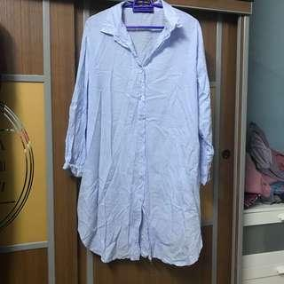 Preloved MIS CLAIRE Striped Shirt