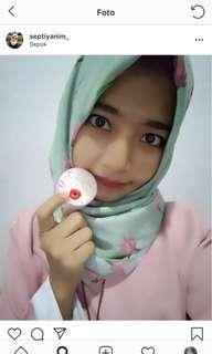 Lip gloss pink baru ori beautyhacks