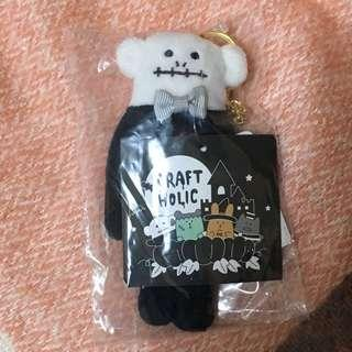 Craftholic Halloween Skeleton Loris keyring 奸夫 宇宙人 loris 馬騮仔 萬聖節 吊飾 鎖匙扣