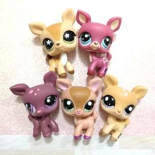 Littlest Pet Shop lps deers