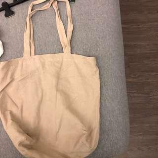 ACTUS日本柔軟裸色帆布包