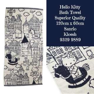 Hello Kitty Towels 3 Pc Set