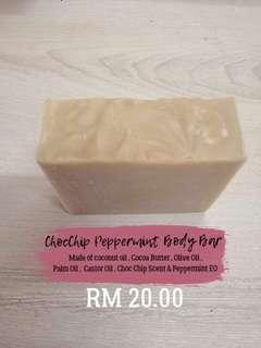 Handcrafted body soap bar