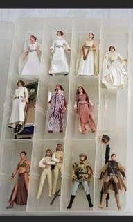 Star Wars Princess Leia figurines