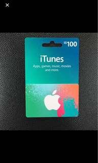 Buying all iTunes gift cards.