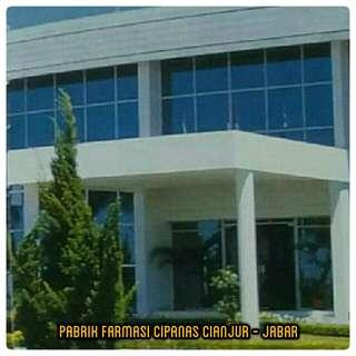 Pabrik Farmasi Cipanas Cianjur - Jabar