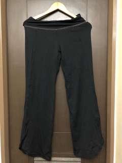 Nike running yoga pants black
