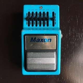 Maxon GE-9 Graphic Equalizer for Electric Guitar Made in Japan Rare Vintage