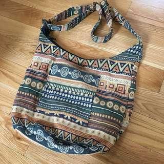Aztec designed bag