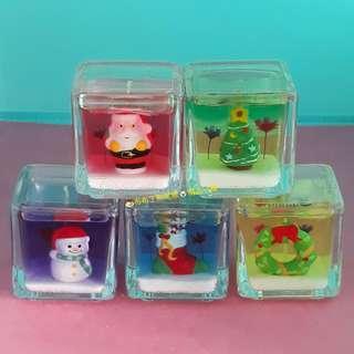 🍮🐨聖誕節果凍蠟燭(5個1組💲200)