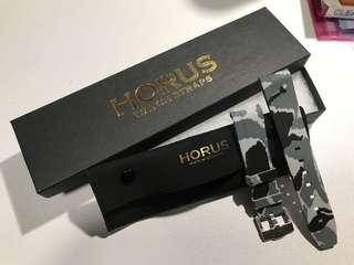 Horus Rubber Camo Watch Strap