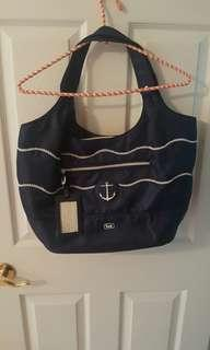 Nautical Overnight Bag