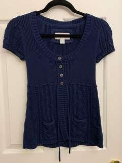 AE knitted tee XS