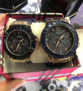 Guess couple watches