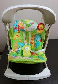 Fisher Price Rainforest Take Along 2-in-1 Swing And Seat Rocker