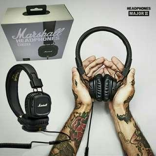 Marshall headphone deep bass noise cancelling #tgv3