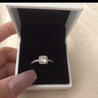 Pandora Timeless Elegance Ross Gold Ring