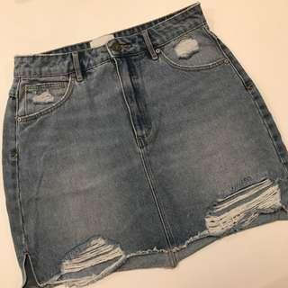 Abrand Denim Skirt Size 10