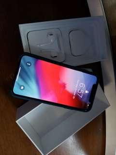 iPhone X (Space Gray 256GB HK ver.) + Apple Wallet Leather Case