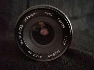 Wide angle lens MD mount