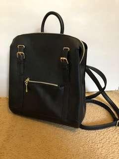BNWT black backpack