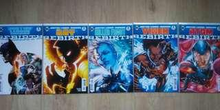 Justice League of America Rebirth one-shots