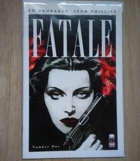 Fatale #1 image comics