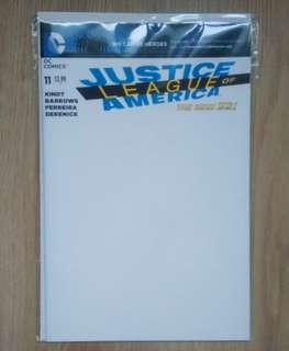 Justice League of America (2013) #11 blank variant DC