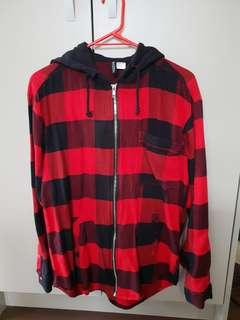 almost new H&M checkered cardi.Womans6 pick up MT.Wellington