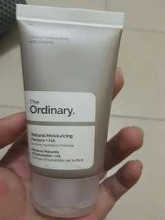 The Ordinary natural moisturazing