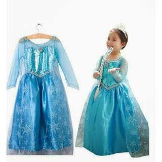 Frozen Elsa Dress (size 140/fits from 5-7yrs)
