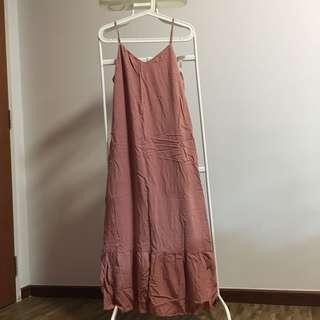 🚚 Fvbasics fashionvalet pink ruffle dress