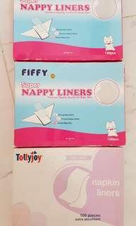 Nappy lining