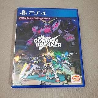 PS4 New Gundam Breaker (Sell or Swap)