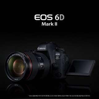 Canon 6DMK2 (BNIB) + BG-E21 Battery Grip