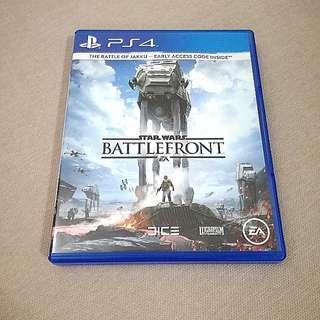 PS4 Star Wars Battlefront for Swap