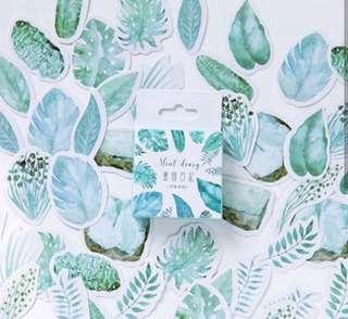 Bujo plant stickers //PO//