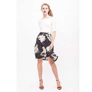 BNWT Osmose Bella Bloom Midi Skirt