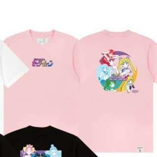 :CHOCOOLATE x 美少女戰士 Sailor Moon 粉紅印花圖案短袖TEE T-shirt XS