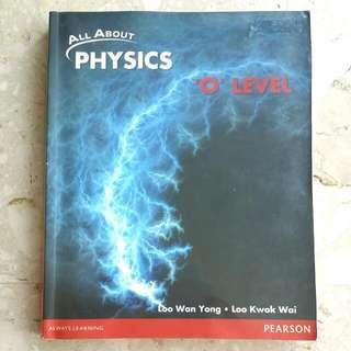All About Physics O Level Textbook