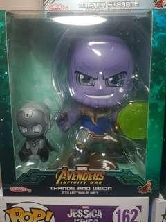 Cosbaby Infinity War Thanos & Vision