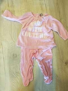 Juicy couture baby winter suit