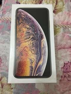 iPhone Xs Max, Gold, 64GB $9100 Brand New 全新(未開盒) (原價$9499)