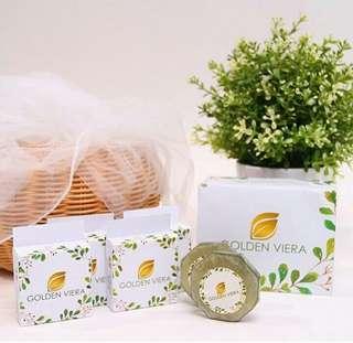 GOLDEL VIERA sabun kecantikan herbal