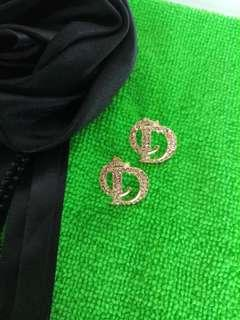 Authentic Christian Dior Earrings